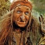 Hexe Baba Jaga - eine Bekannte Märchenfigur aus russischen Märchen