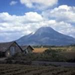 Vulkan Sinabung ausgebrochen
