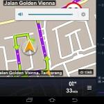 Navi-App für Indonesien