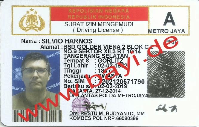 Mein neuer Führerschein