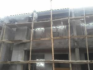 Unser Haus im Bau
