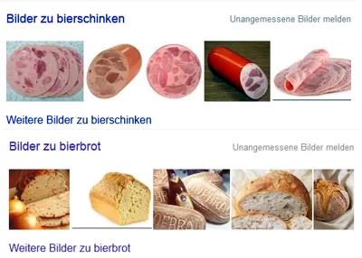 Diese Fotos zeigte ich Screenshot: Google Suchergebniss