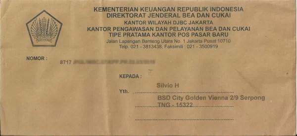 Wie in Indonesien üblich geht man nur von einem Namen aus.