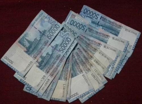 In Indonesien füllt man sich schnell als Millionär