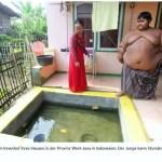 Das dickste Kind der Welt, stammt aus Indonesien