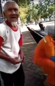 94 jähriges Raubopfer erhält Unterstützung aus dem Internet / Screenshot Youtube