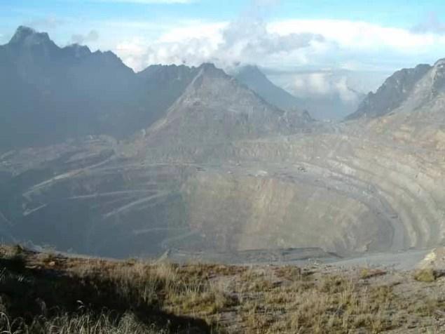 Freeport verhandelt mit Indonesien / Foto: Grasberg Miene - Wikipedia - Alfindra Primaldhi