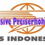 Massive Versandkostenerhöhung bei der PosIndonesia