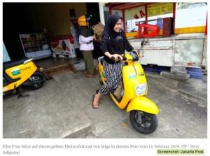 Innovationen in Indonesien unerwünscht / Screenshot: Jakarta Post