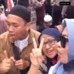 Mann wurde verhaftet, weil er drohte den Präsidenten Joko Widodo zu enthaupten