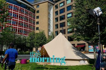 Baylily Bell Tents and Glamping on ITVs This Morning Glamping Feature