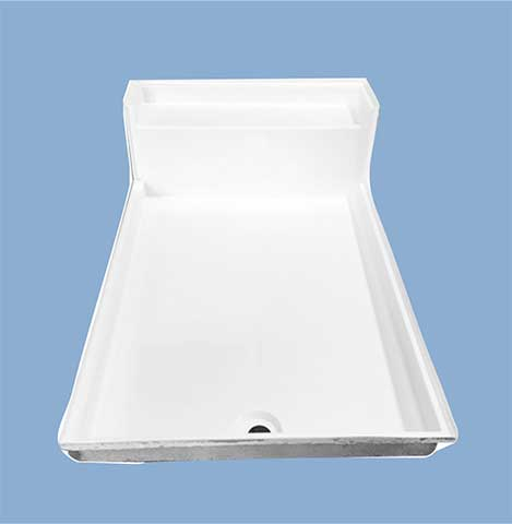 5128 Waco 48 X 72 Seated Shower Pan Baymont Bathware