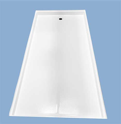 54896 Ft Worth 48 X 96 Shower Pan Baymont Bathware