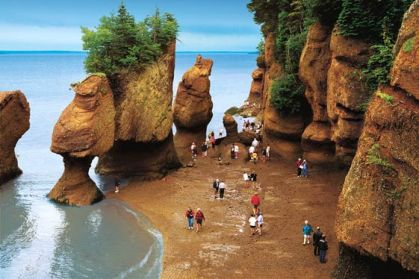 Image result for Bay of Fundy, New Brunswick
