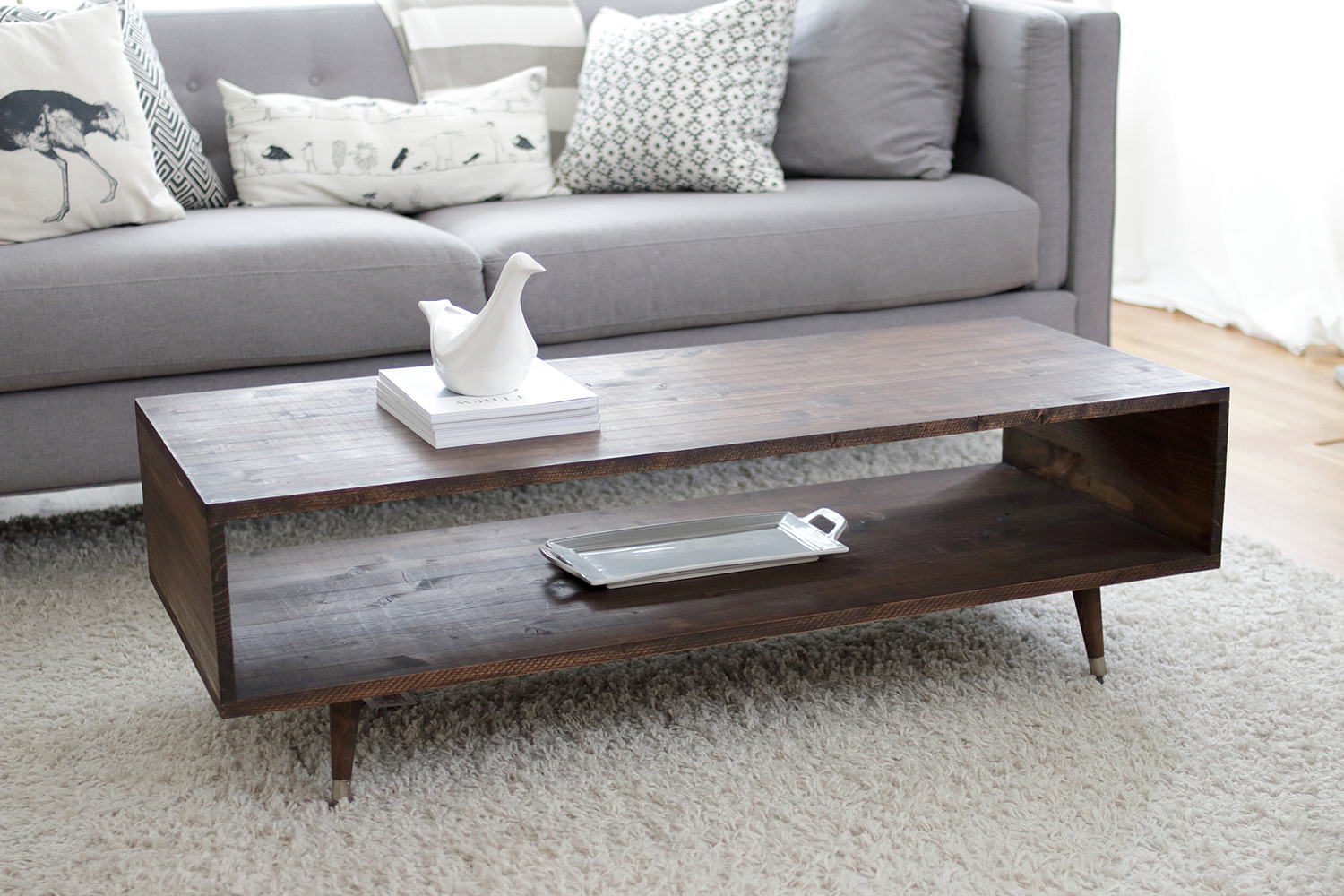 Build Your Own Mid Century Modern Coffee Table For 60 Bay