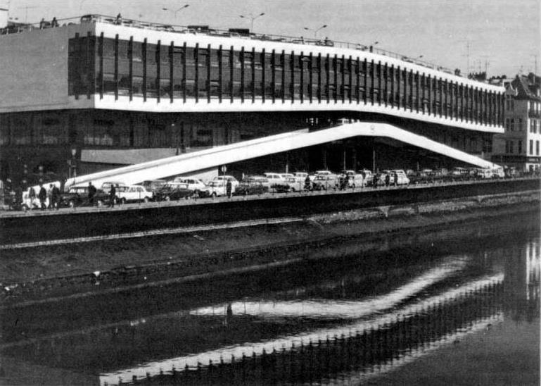 Histoire des Halles : Marché Parking
