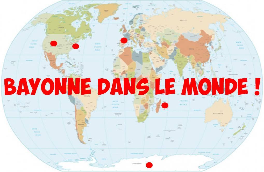 Bayonne dans le Monde