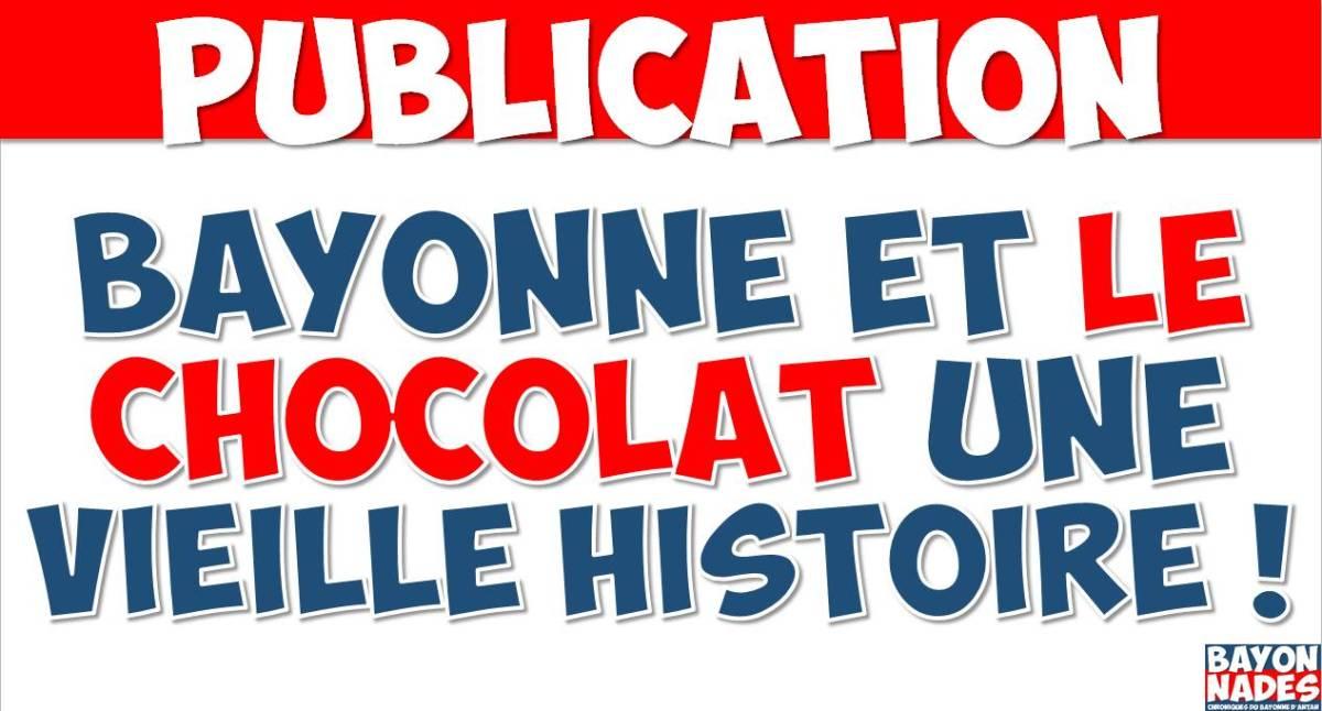 Bayonne et le chocolat
