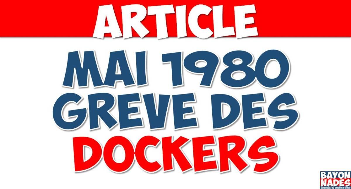 1980 Grève dockers