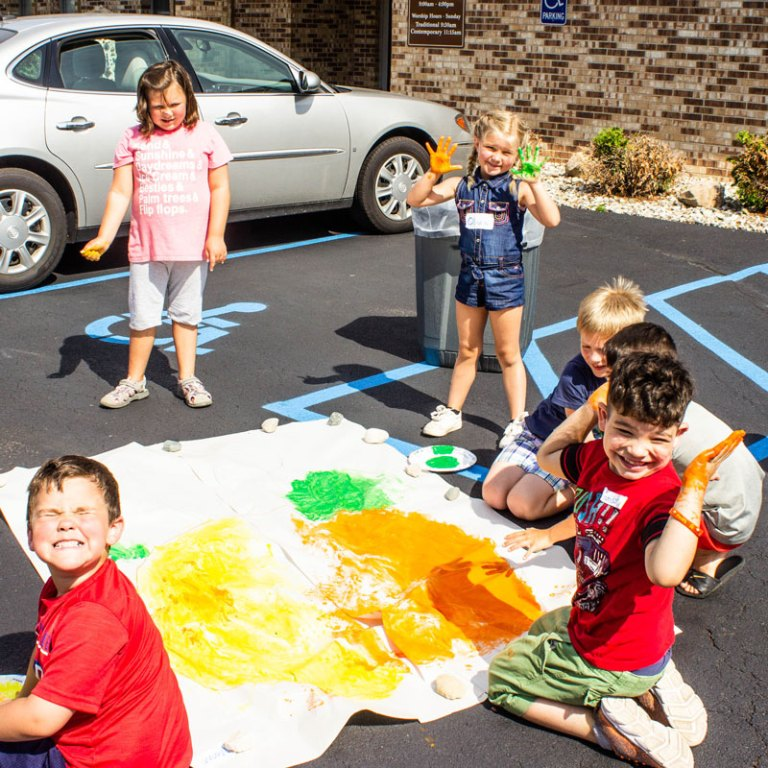Day Camp On The Road (Vassar First UMC)