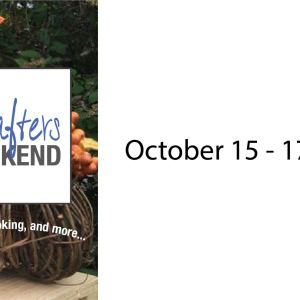 crafters weekend Fall 21