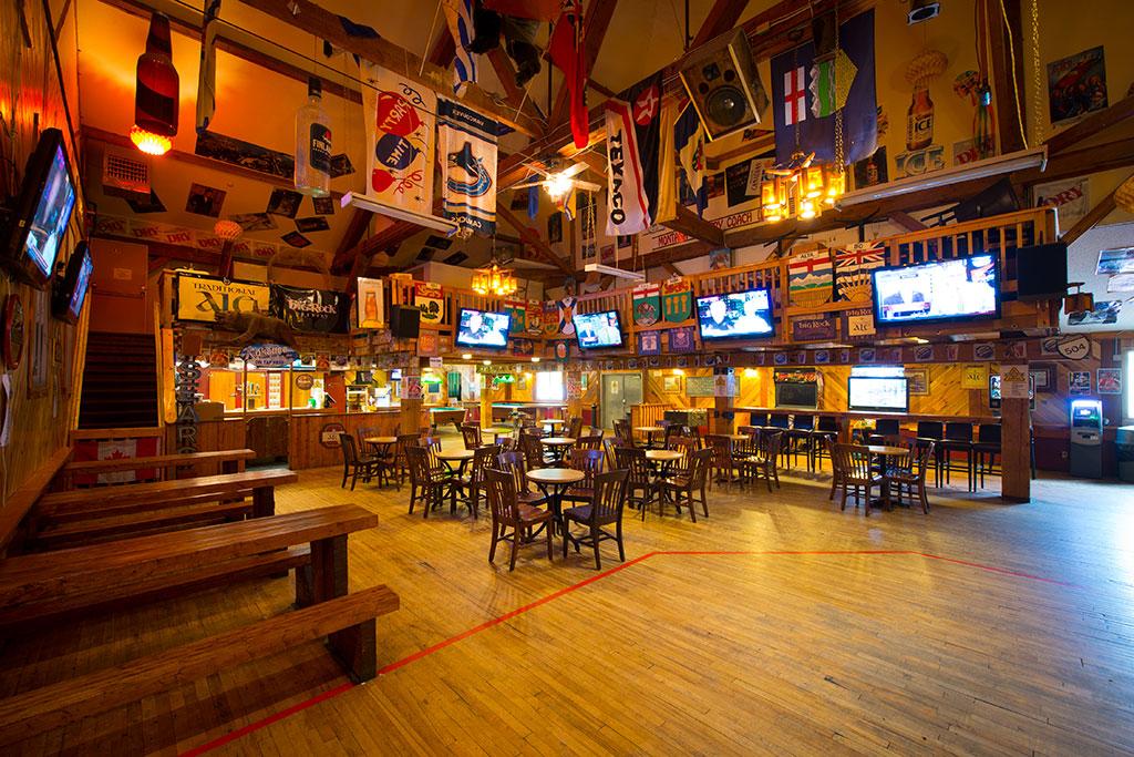 Thirsty Bear Saloon Bar Waterton Lakes National Park
