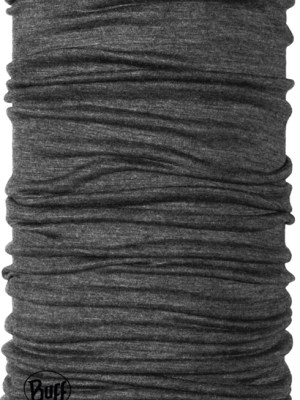 Grey merino wool Buff