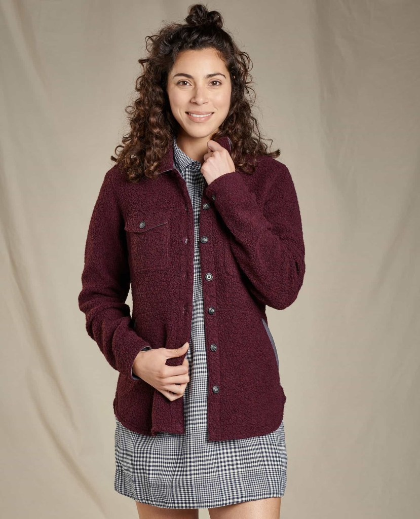 Toad and Co W Telluride Sherpa Shirt Jacket