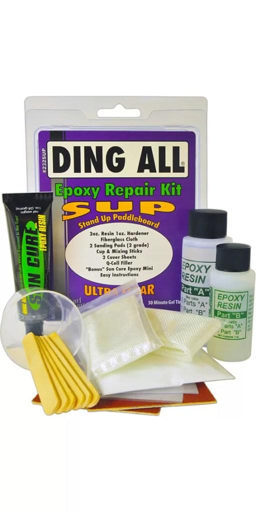 Coastal Surf Supply Ding All Epoxy Repair Kit