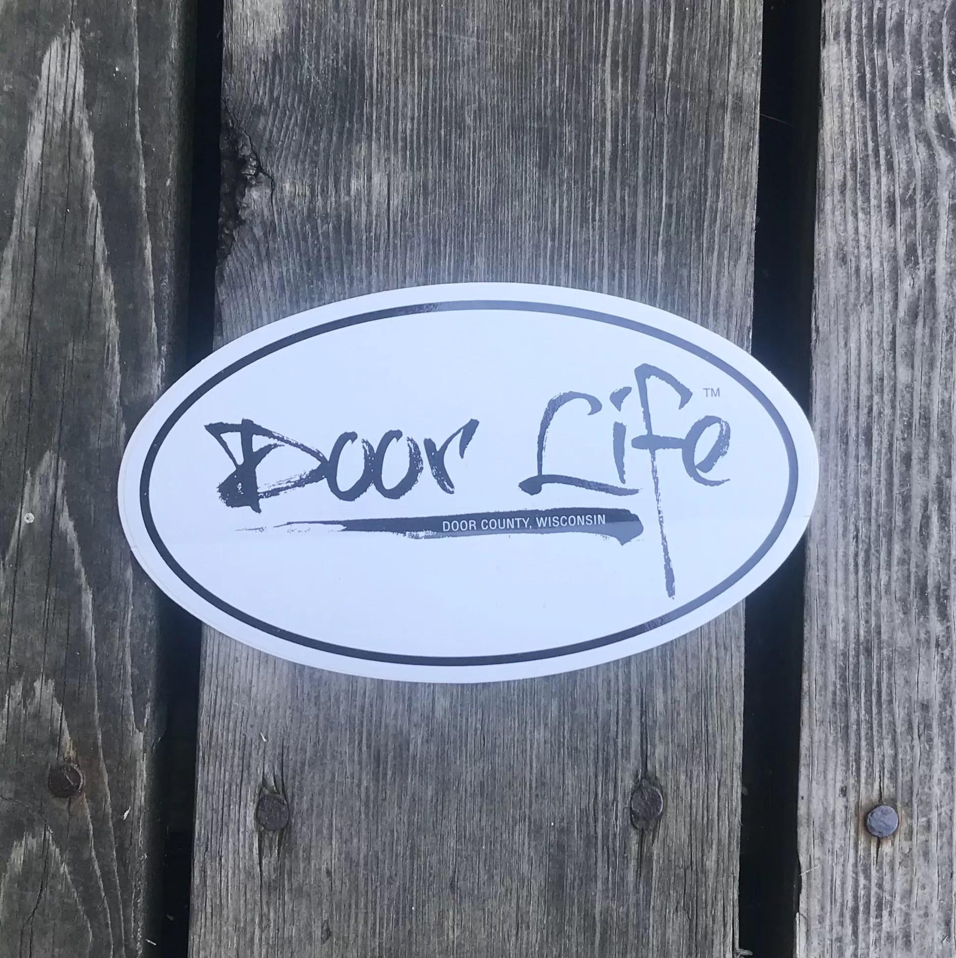 Door Life Sticker