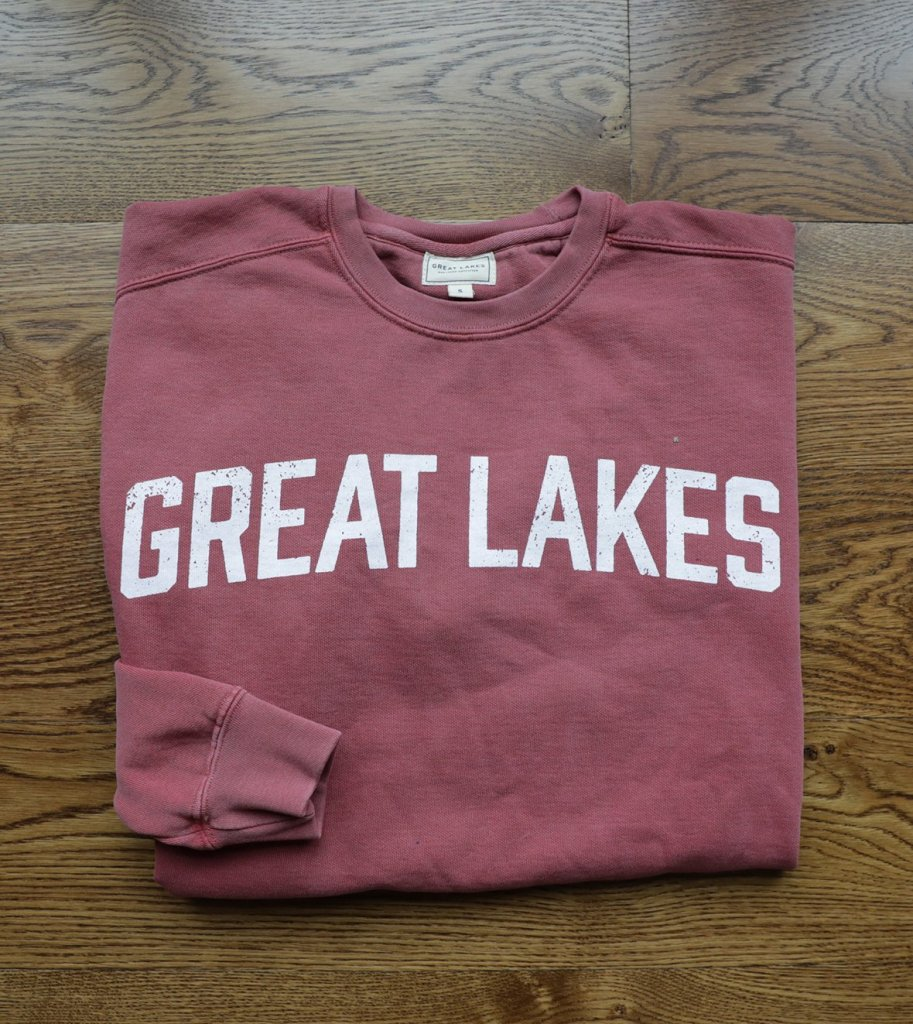 Great Lakes Weathered Crew L/S