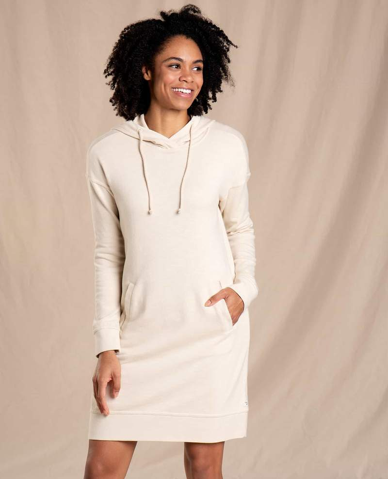 Toad Follow Through Hooded Dress