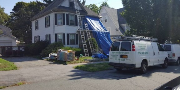 residential roof repair Danvers MA