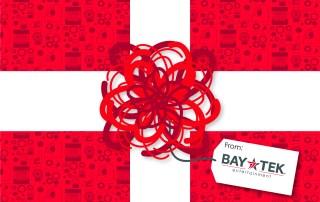 Bay Tek Christmas card