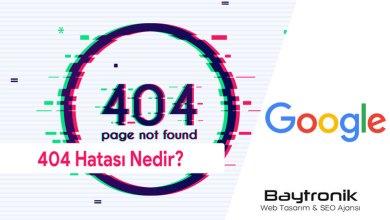 Photo of 404 Hata Kodu Nedir?