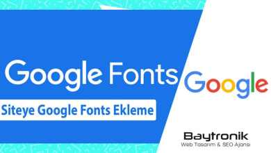 Photo of Google Fonts'u WordPress Web Sitenize Kolayca Ekleme