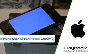 Photo of iPhone'lar da Mavi Ekran Hatasının %100 Çözümü