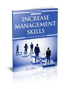 Increase Your Management Skills eCourse