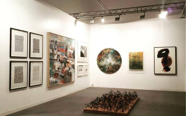 interior of Salwa Zeidan Gallery Abu Dhabi