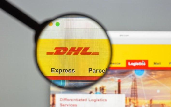 شركة شحن DHL