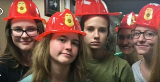 75969770d4 Barney rescue and why these girls are in fire hats – The South ...