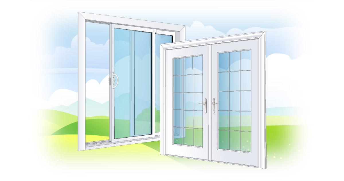 patio doors vs garden doors