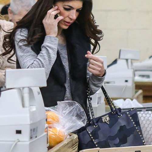 PHOTOS:  Teresa Guidice is back to normal life, with, some very expensive accessories