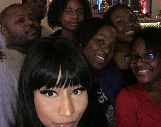 Nicki Minaj spent the holiday bailing her brother out of jail