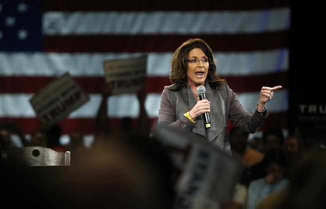 Reports: Sarah Palin taking turn as latest Judge Judy