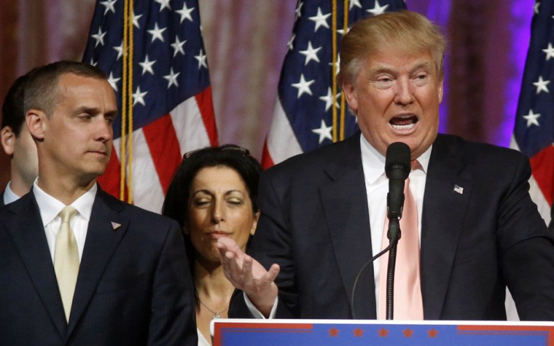 Donald Trump 's campaign manager charged with assault