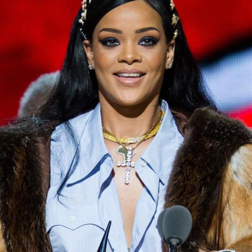 Pop star Rihanna has defeated the Beatles in terms of this