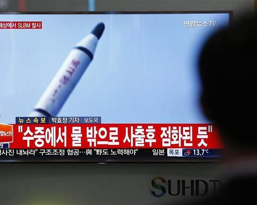 Reports: North Korea has fired ballistic missiles off of its coast