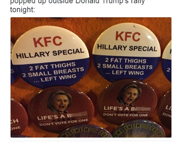 This proves Donald Trump 's supporters are as sexist as ever