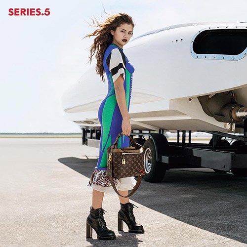 PICTURE EXCLUSIVE: Selena Gomez stars in Louis Vutton 's 16' campaign